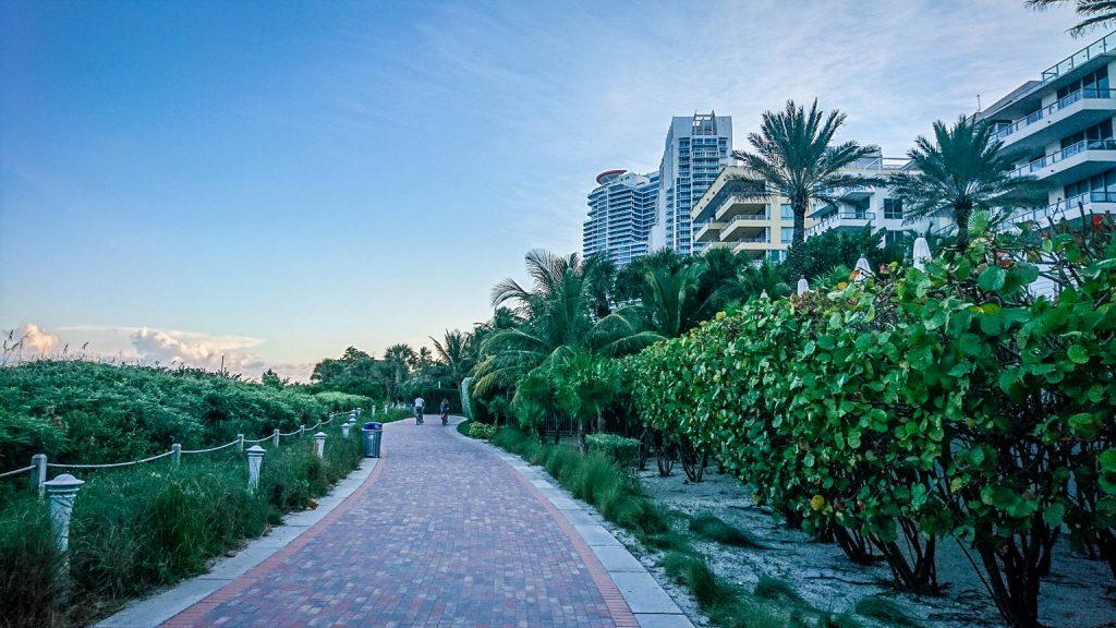 Balade bord de mer de Miami