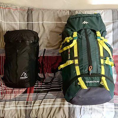 Notre sac pour le tour du monde