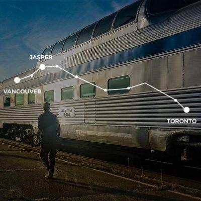 Traversée du Canada en train : de Toronto à Vancouver en 4 jours !