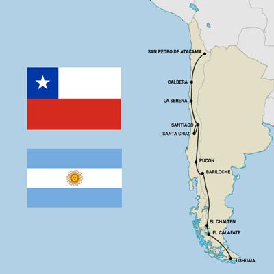 1 mois et demi au Chili et en Argentine : itinéraire et conseils