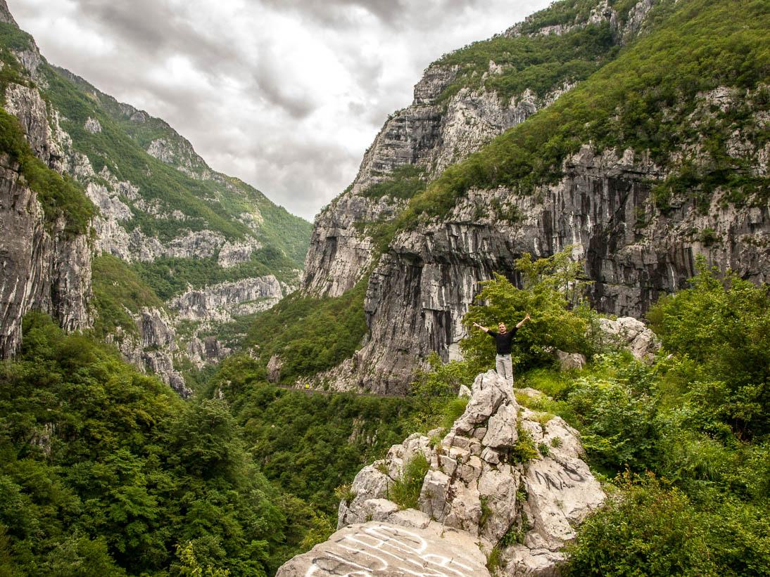 Canyon de la Morača au Monténégro