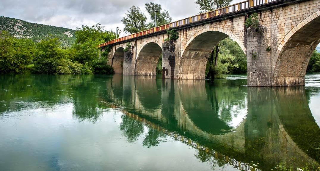 Pont de Danilovgrad au Monténégro