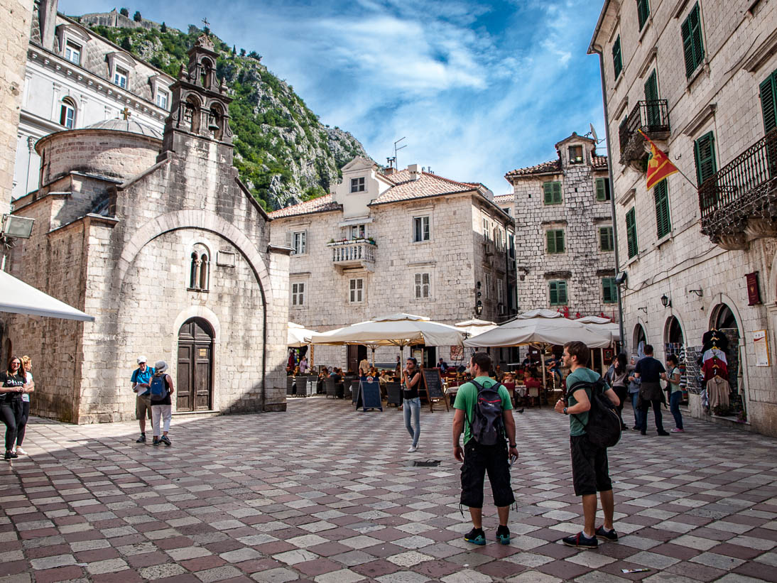 Vieille ville de Kotor au Monténégro