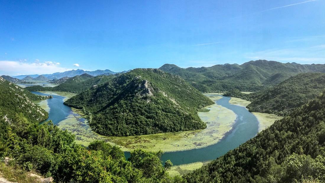 Rivière Rijeka Crnojevića au Monténégro