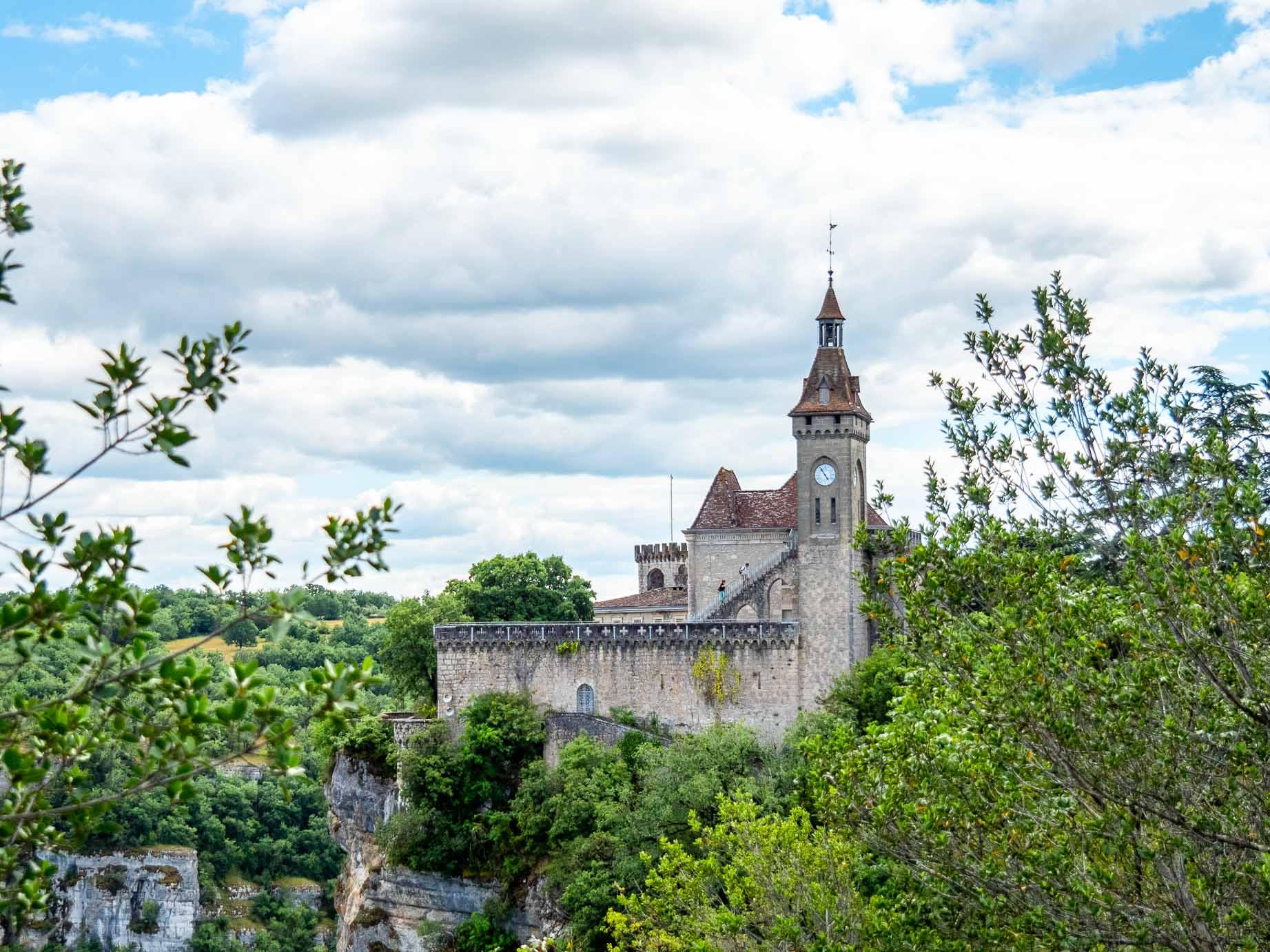 Cité de Rocamadour dans le Lot en France
