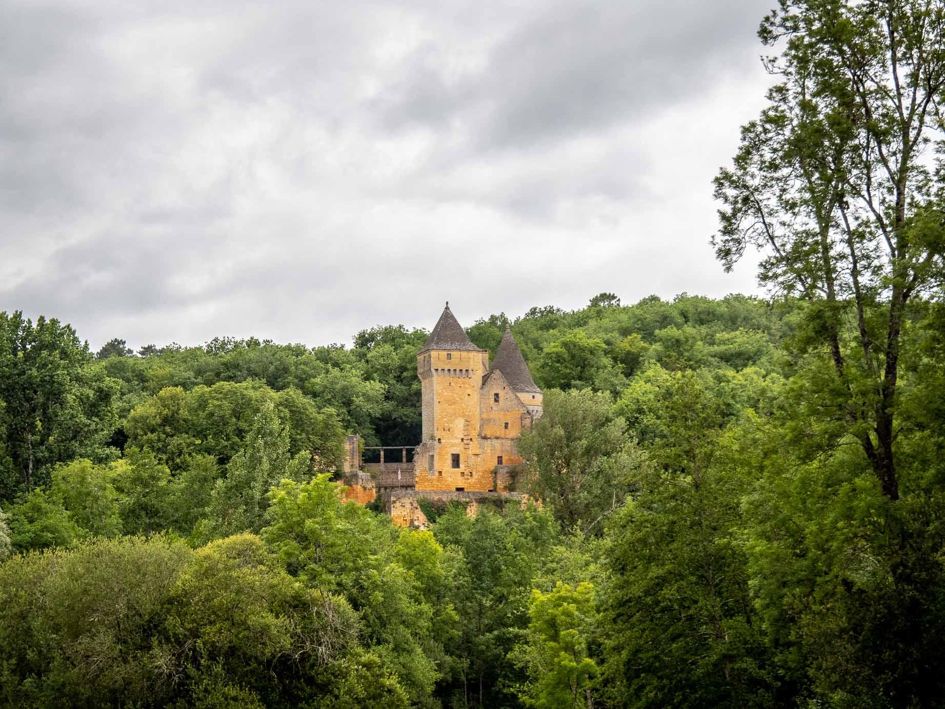 Château de Commarque en Dordogne
