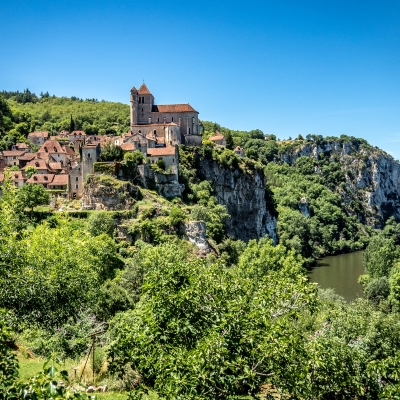 La Dordogne, Le Lot et des villages